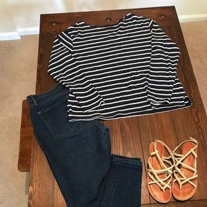 Old navy striped shirt